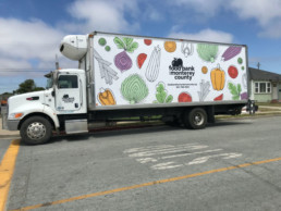 Food Bank for Monterey County truck